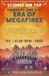"Join FWPP for a screening of the film ""Era of Mega Fires"" @ The Green Room 